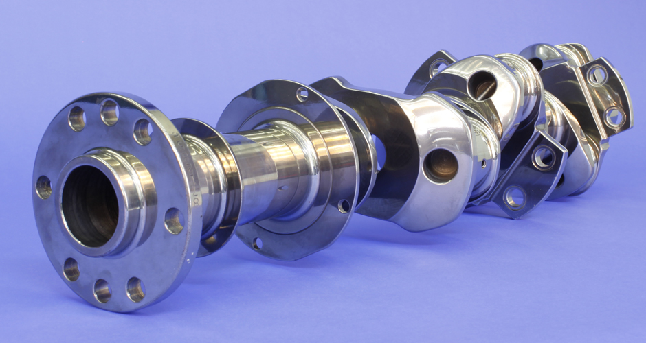Isotropic Surface Finished Crankshaft