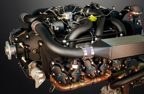 XR and XRT Black Edition Aircraft Engine